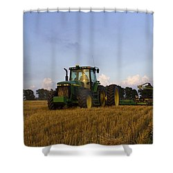 Planting Deere Shower Curtain