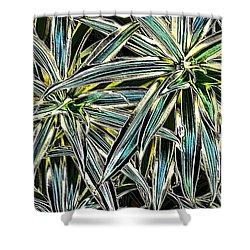 Plants  Shower Curtain by Oksana Semenchenko
