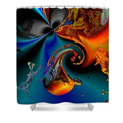 Plate 291 Shower Curtain