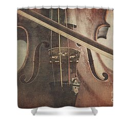 Play A Tune Shower Curtain
