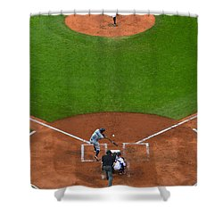 Play Ball Shower Curtain by Frozen in Time Fine Art Photography
