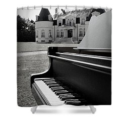 Play Me A Tune Shower Curtain