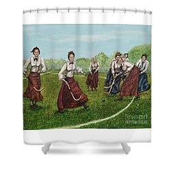 Play Of Yesterday Shower Curtain