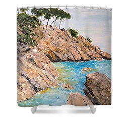 Playa De Aro Shower Curtain