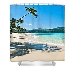 Playa Rincon Shower Curtain