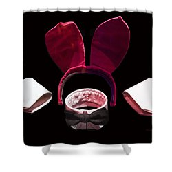 Playboy Bunny Costume Accessories Shower Curtain