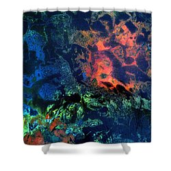 Dendrites Shower Curtain