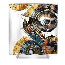 Playing In The Wind 1000.042312 Shower Curtain by Kris Haas