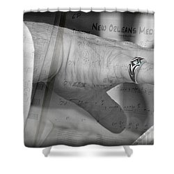 Playing The Medley Shower Curtain