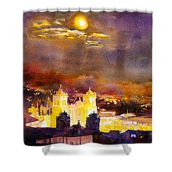 Plaza De Armas- Cusco Shower Curtain