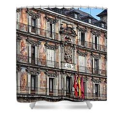 Plaza Mayor Shower Curtain