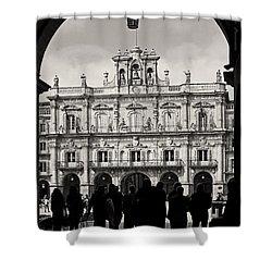 Plaza Mayor Salamanca Shower Curtain