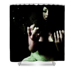 Shower Curtain featuring the photograph Pleading by Jessica Shelton