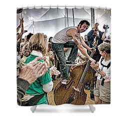 The Lost Bayou Ramblers Pleasing The Crowd Shower Curtain