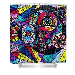 Pleiades Shower Curtain by Teal Eye  Print Store