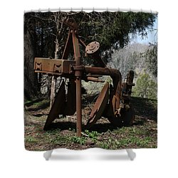 Plow Shower Curtain