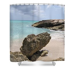Plum Bay - St. Martin Shower Curtain