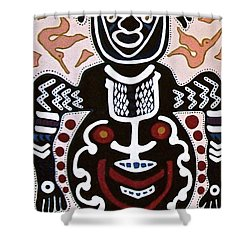 Papua New Guinea Manggi Shower Curtain