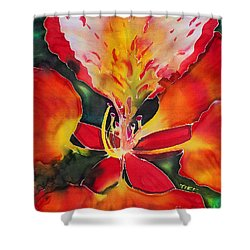 Poinciana Royale Shower Curtain