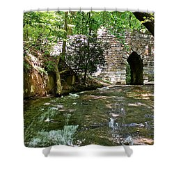Poinsett Bridge Shower Curtain