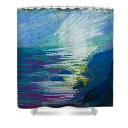 Point Dume Shower Curtain