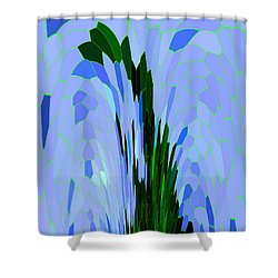 Point Of View Shower Curtain by Mariarosa Rockefeller