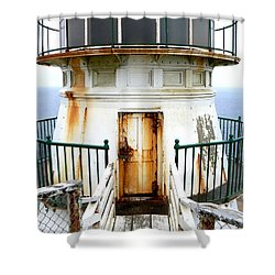 Point Reyes Historic Lighthouse Shower Curtain