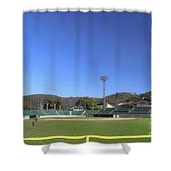 Point Stadium - Johnstown Shower Curtain