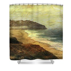 Point Sur Lighthouse Shower Curtain