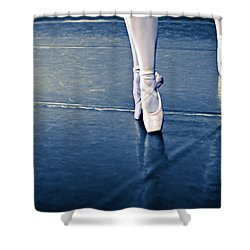 Pointe Shower Curtain by Laura Fasulo