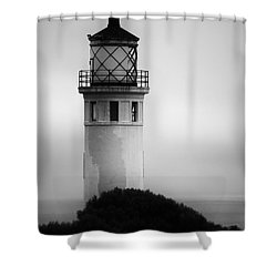 Pointe Vincente Lighthouse Shower Curtain