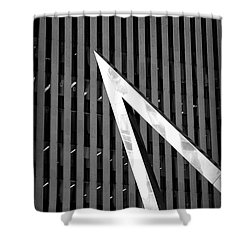 Pointy Shower Curtain by Valentino Visentini