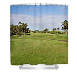 Poipu Bay #1 Shower Curtain by Scott Pellegrin