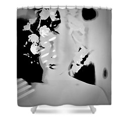 Shower Curtain featuring the photograph Poise by Jessica Shelton
