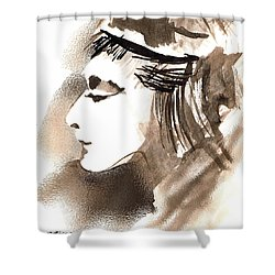 Poise Shower Curtain by Seth Weaver