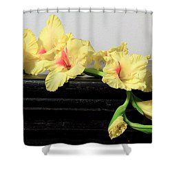 Poised Glady Shower Curtain