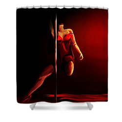Pole Shower Curtain