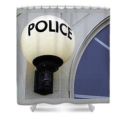 Police Station Shower Curtain
