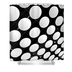 Polka Dots Shower Curtain by Ann Horn