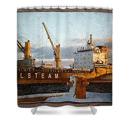Polsteam Shower Curtain