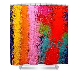 Polyphony IIi Shower Curtain by John  Nolan