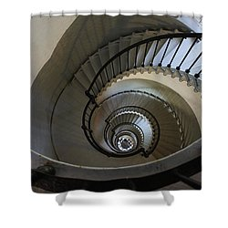 Ponce Stairs Shower Curtain by Laurie Perry