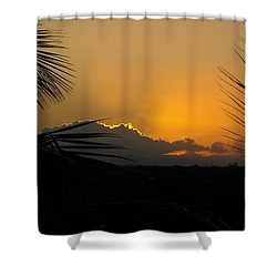 Ponce Sunrise Shower Curtain