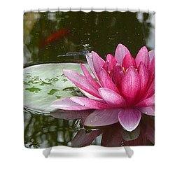 Pond Magic Shower Curtain