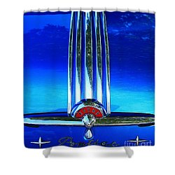 Shower Curtain featuring the photograph Pontiac Eight by Linda Bianic