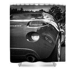 Pontiac Solstice Rear View Shower Curtain