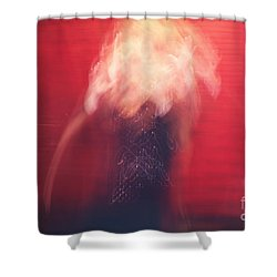 Poof Shower Curtain by Aimelle