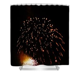 Shower Curtain featuring the photograph POP by Amar Sheow
