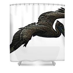 Pop Art - Pelican Selection Shower Curtain