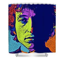 Pop Art Dylan Shower Curtain